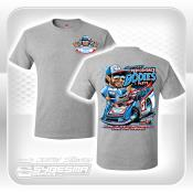Performance Bodies T-Shirt - Small - Gray - Late Model
