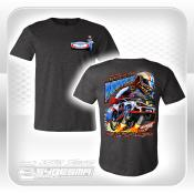 Performance Bodies T-Shirt - 2 XL - Gray - Stock Car