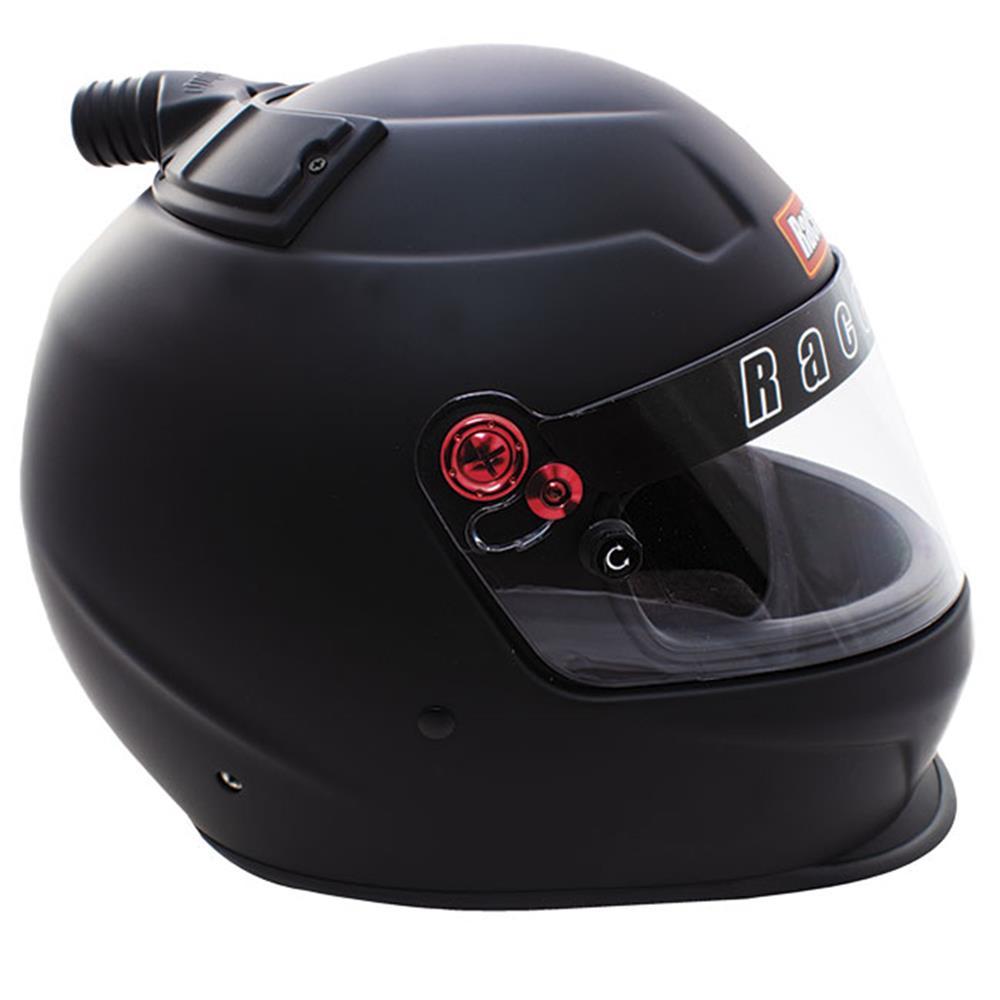 Racequip Pro20 Top Air Helmet - Flat Black - Medium
