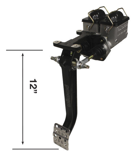 Picture of Forward Mount TruBar Single Pedal Assy w/ Master Cylinders