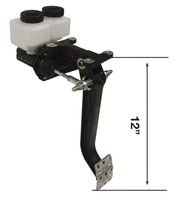 Picture of Forward Mount TruBar Single Pedal Assy w/ Compact Master Cylinders