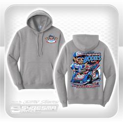 Hooded Sweatshirt - Medium - Gray - LM