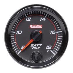 Quickcar Redline Volt Gauge (8-18 Volts)