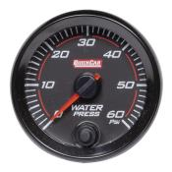 Quickcar Redline Water Pressure Gauge (0-60 PSI)