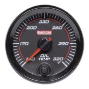 Quickcar Redline Oil Temp Gauge (140° - 320° F)