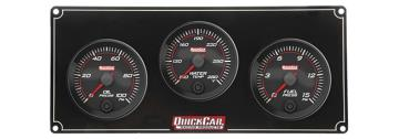 Quickcar Redline 3 Gauge Panel (OP/WT/FP)
