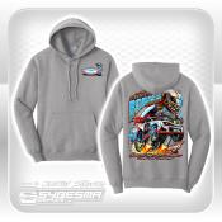 Hooded Sweatshirt - XXL - Gray - Stock Car