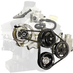 Picture of Jones SBC/Crate V-Belt WP/PS & Alternator Drive Kit