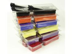 Picture of PRP Clamshell Zip Ties - Pkg of 400