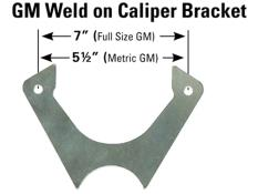 Picture of PRP Weld On Caliper Brackets