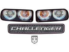 MD3 Deluxe Graphic Headlight Kits