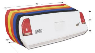 Picture of 81-88 Monte Carlo Tail/Taillight Decal Combo